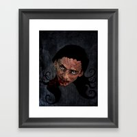 Catching Chaos Framed Art Print
