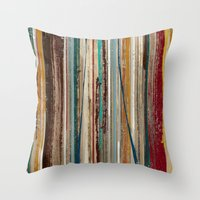 Linear Party Throw Pillow