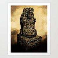 La Cuatlicue Art Print