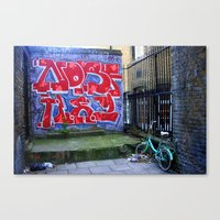 End Of The Alley Canvas Print