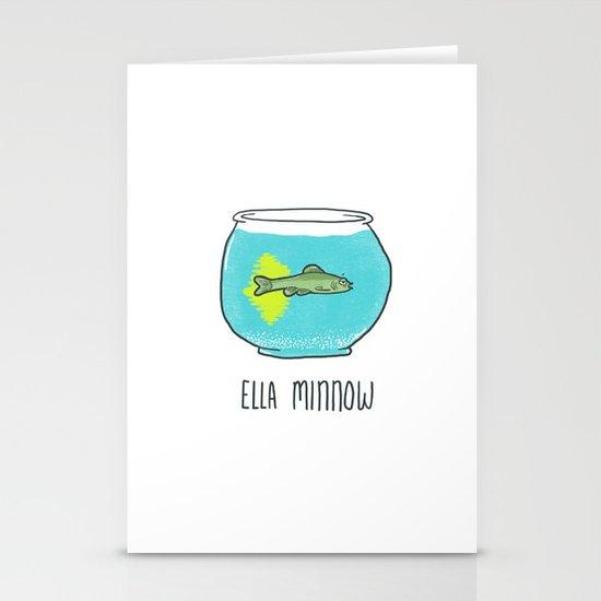 Ella Minnow Accident  Stationery Card