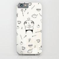 iPhone & iPod Case featuring Mini Chef by missmalagata