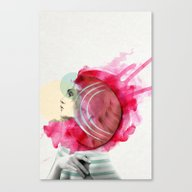 Bright Pink  Canvas Print