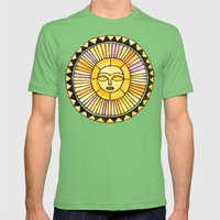 The Sun was incapable of making plans Mens Fitted Tee Grass SMALL