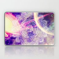 Space Mandala Purple Laptop & iPad Skin