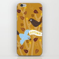 4 Seasons - Autumn iPhone & iPod Skin