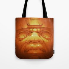Olmeca II. (Gold) Tote Bag