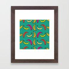 Tropic Banana Framed Art Print