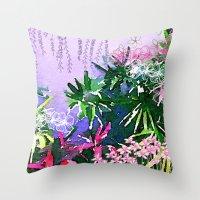Singapore Summer Throw Pillow