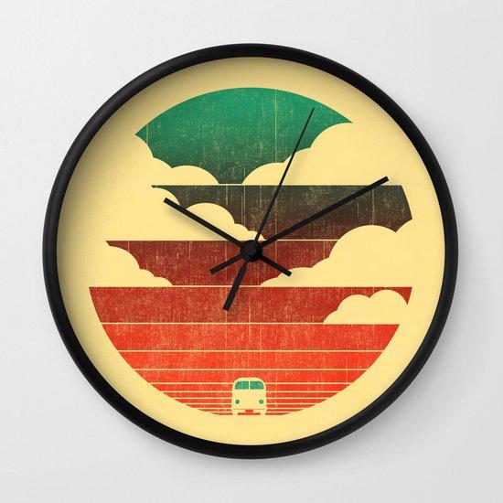 Go West Wall Clock