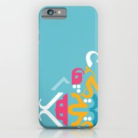 Blue Arabic iPhone 6 Slim Case
