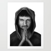 PRIEST Art Print
