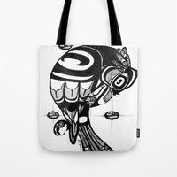 Raven Steals the Stars Tote Bag