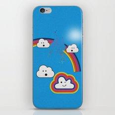 The Great Rainbow Cloud Robbery iPhone & iPod Skin