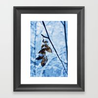 A Little Colour Remains Framed Art Print
