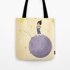 The Little Prince Of Saiyans Tote Bag