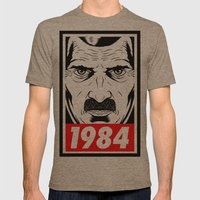 OBEY 1984 Mens Fitted Tee Tri-Coffee SMALL