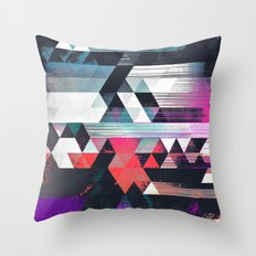 dythyr dysystyr Throw Pillow