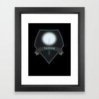lumos Framed Art Print