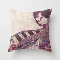 Kabuki Throw Pillow