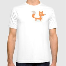 Fox Mens Fitted Tee SMALL White
