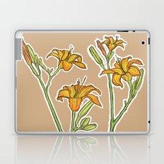 Orange lilies Laptop & iPad Skin