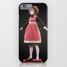 Red bonnet iPhone 6 Slim Case