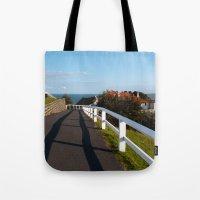 Walkway to Byron Bay, Australia Tote Bag