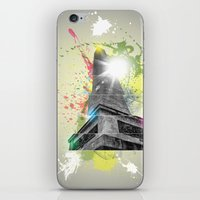 Wellington Monument Abstract iPhone & iPod Skin