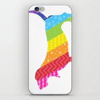 Somewhere Over the Basset iPhone & iPod Skin