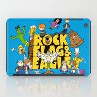 Rock, Flag & Eagle iPad Case