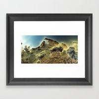 Pass The Horizon Of Nihe… Framed Art Print