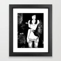Print No 6 Framed Art Print