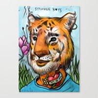 tigerB Canvas Print
