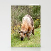 The Endangered Takin Stationery Cards