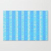 Blue Herring Canvas Print