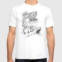 The Eraser Mens Fitted Tee White SMALL