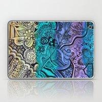 Watercolor Doodle Laptop & iPad Skin
