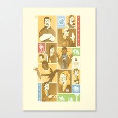 Parks & Rec - Dammit Jerry! Edition Canvas Print