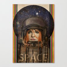 Give me Space (Girl) Canvas Print