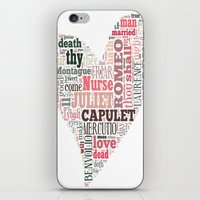Shakespeare's Romeo and Juliet Heart iPhone & iPod Skin