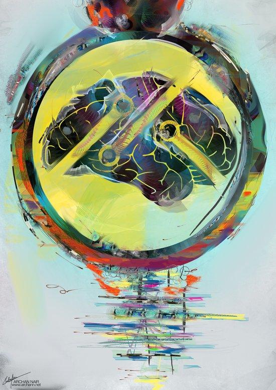 Mindbuffer : PanFM Chapter 1 Art Print