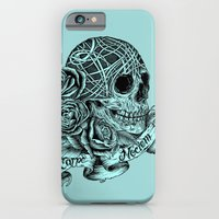 iPhone Cases featuring Carpe Noctem (Seize the Night) by Rachel Caldwell