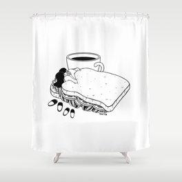 Shower Curtain - Breakfast Included - Henn Kim
