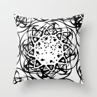 HOLLER OUT Throw Pillow