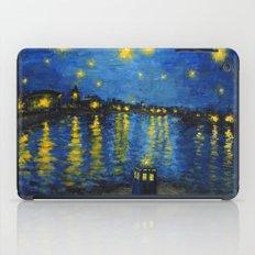 Starry Night Over Cardiff Bay iPad Case