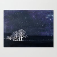 The Fabric of Space and the Boundary of Knowledge Canvas Print