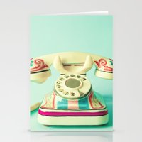 Give Me A Call Sometime Stationery Cards