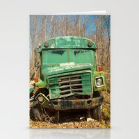 The Green Bus Stationery Cards