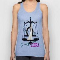 Libra Unisex Tank Top